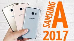 Samsung A5 2017, A7, A3 — обзор характеристики, сравнение