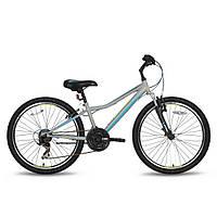 Велосипед 24'' PRIDE BRAVE 21 серо-синий матовый 2016