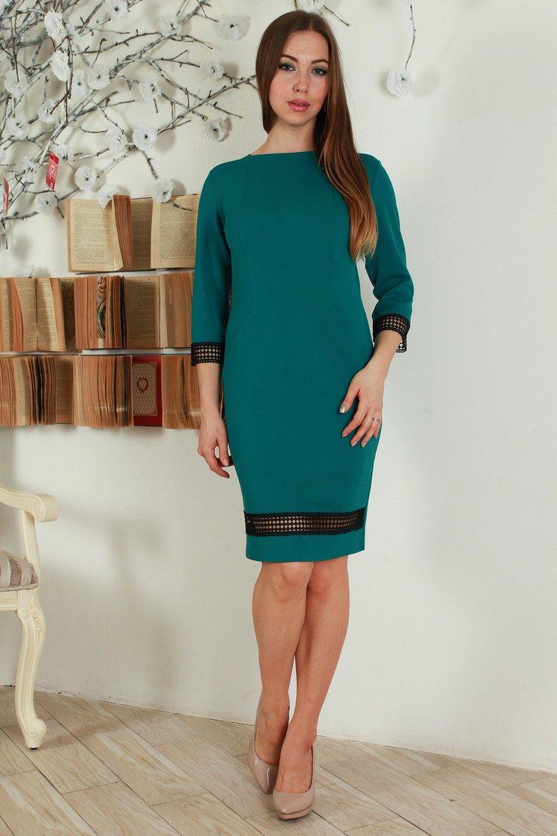 Платье бутылочного цвета фото