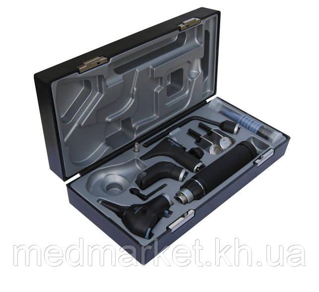 ЛОР набор Riester Ri-scope praktikant L3 LED 3,5 В, С ручка для двух литиевых батареек