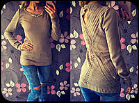 Женский стильный свитер с украшением (5 цвета)
