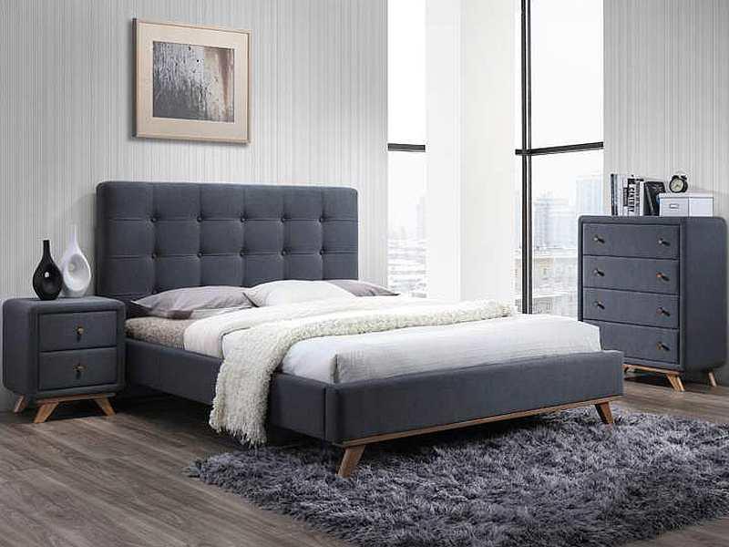 Кровать Melissa 160 Signal серый