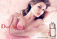 "Christian Dior ""Addict Shine"" 100ml (Женская Туалетная Вода)"