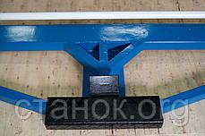 Zenitech AKB 2000-1.5 Листогиб ручной сегментированный механический кромкогиб зенитек акб, фото 3
