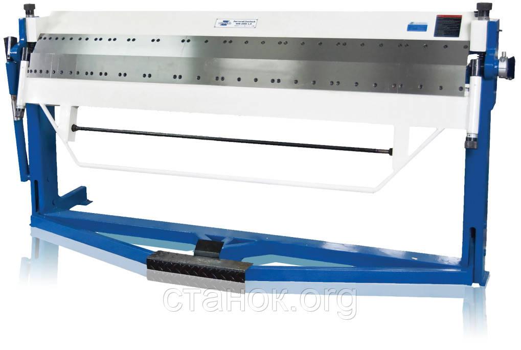 Zenitech AKB 2000-1.5 Листогиб ручной сегментированный механический кромкогиб зенитек акб
