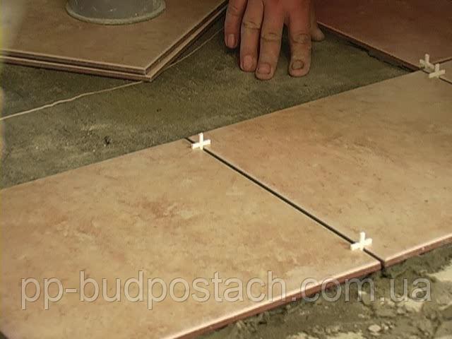 Опис процесу укладання плитки