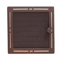 Вентиляционная каминная решетка Trend с жалюзи, блестящий коричневый