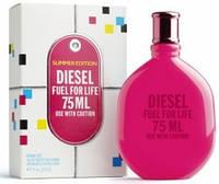 "Женская парфюмерия Diesel ""Fuel For Life Summer Edition"" 75ml (Женская Туалетная Вода)"