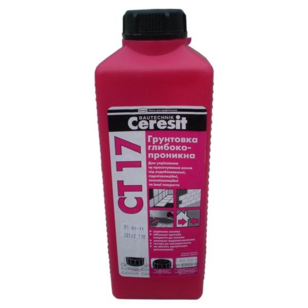 Ceresit CT 17 Глубокопроникающая грунтовка 2 л