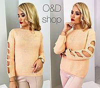 Женский стильный вязанный свитер (3 цвета)