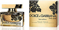 "Женская парфюмерия Dolce & Gabbana ""The One Lace Edition"" 75ml (Женская Туалетная Вода) (Люкс)"