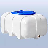 Пластиковый бак Euro Plast квадратный (овал) 100 литров RК 100