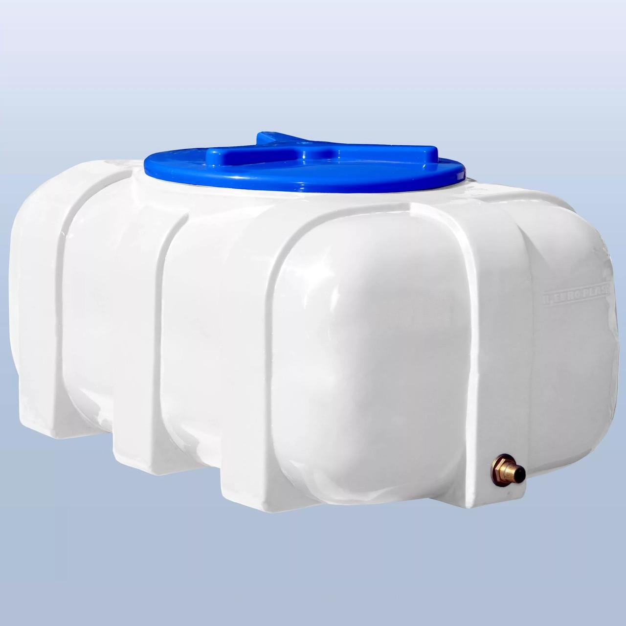 Пластиковый бак Euro Plast квадратный (овал) 200 литров RК 200