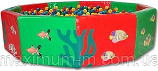 Сухий басейн з кульками (d200x50) см 2160 шт. ЇМ-12.20