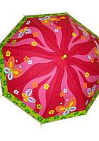 Зонтик детский с цветочками Children's Umbrella ДСК03