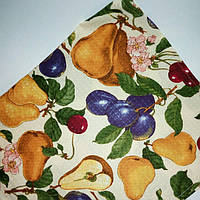 Вафельное кухонное полотенце