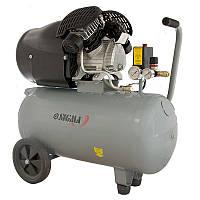 Компрессор Sigma 7043711 двухцилиндровый (2,2 кВт, 412 л/мин, 50 л)