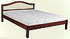 """Кровать из дерева """"Грация"""""""