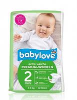 Подгузники Babylove Extra Weiche Mini 2 (3-6 кг) - 42 шт.