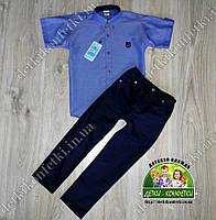Комплект для мальчика рубашка штаны