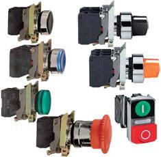 Harmony XB4 - Устройства управления и сигнализации в металлическом корпусе Ø22