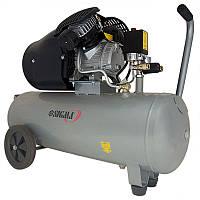 Компрессор Sigma 7043721 двухцилиндровый (2,5 кВт , 455 л/мин, 50 л)