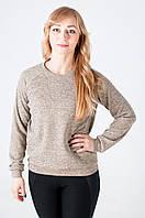 Женская молодежная кофта бежевого цвета