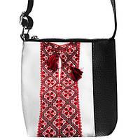 Качественная детская сумка для мальчика с принтом вышиванка