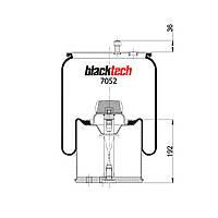 Пневмоподушка BPW RML7052C (BLACKTECH)