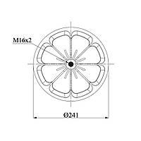 Пневмоподушка SAF RML75133CP5 (BLACKTECH)