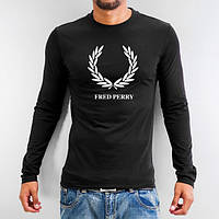 Лонгслив мужской футболка с длинным рукавом мужская Fred Perry