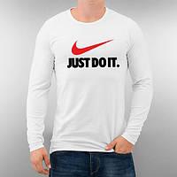 Лонгслив мужской футболка с длинным рукавом мужская Nike Just Do it