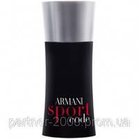 "Giorgio Armani ""Code Sport"" 100ml (Мужская туалетная вода) Мужская парфюмерия"