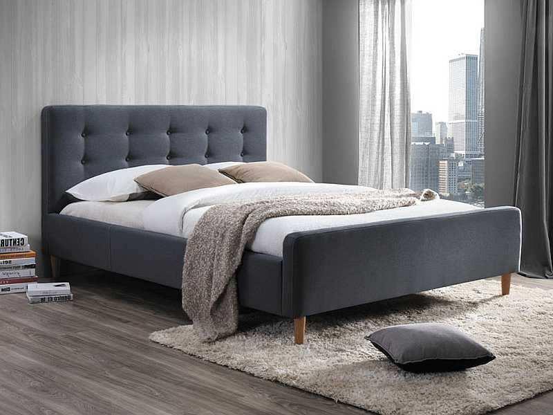 Кровать Pinko 160x200 Signal серый