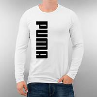 Лонгслив мужской футболка с длинным рукавом мужская Puma