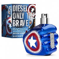 Мужская парфюмерия Diesel Only The Brave Captain America