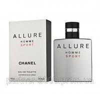 "Chanel ""Allure Homme Sport"" 100ml (Мужская туалетная вода) (Люкс) Мужская парфюмерия"