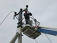 Монтаж воздушных линий ВЛ (проводами СИП, AsXSn)