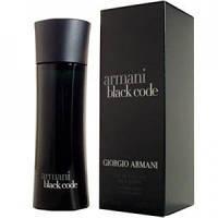 Giorgio Armani Black Code edt 75 ml (Мужская туалетная вода) Мужская парфюмерия