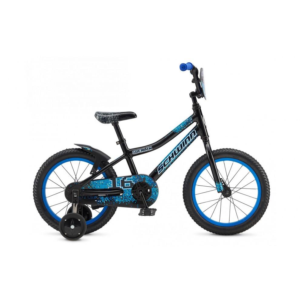 "Велосипед 16"" Schwinn Gremlin boys 2017 чёрный"