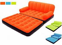 Многофункциональный надувной диван Bestway 67356 (188X152X64 см) + насос 220V RI, КК
