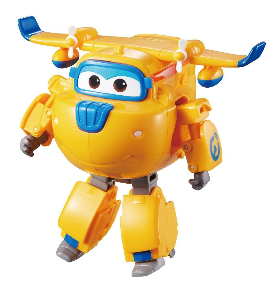 Супер крылья Джетт и его друзья самолет трансформер говорящий Донни Auldey Super Wings Donnie