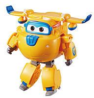 Супер крылья Джетт и его друзья самолет трансформер говорящий Донни Auldey Super Wings Donnie, фото 1