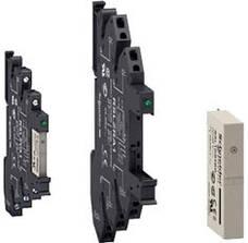 Промежуточные (электромеханические) тонкие интерфейсные реле Zelio Relay RSL от Schneider Electric н
