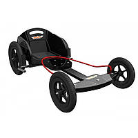 Карт дитячий Kiddimoto Box Kart фанерний, дизайн GT Racing