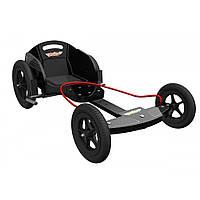 Карт детский Kiddimoto Box Kart фанерный, дизайн GT Racing