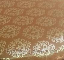 Ткань Avilla 2/7 для стула Юля с твердой спинкой, темный орех