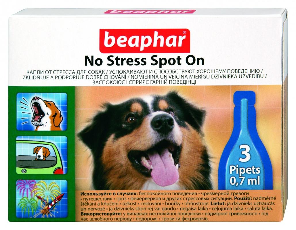 Капли Beaphar No Stress Spot on dog антистресс для собак №3 - Интернет-зоомагазин Royal Zoo в Харькове