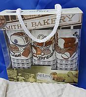 Кухонные полотенца (ТМ Nilteks) ekmek 35*50 (3шт.)