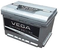 Аккумулятор автомобильный VEGA -60А +прав (О) (600 пуск)